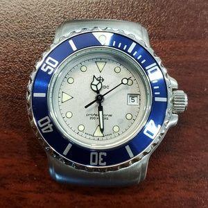 Zodiac Vintage Grey Dial 200M Unisex Watch